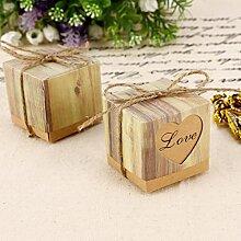 100 Herz Love Style DIY Mini Gastgeschenk Hochzeit