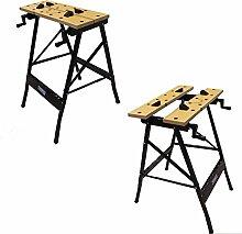 100 kg Werkbank Klappbar Werktisch Spanntisch