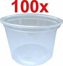 100 Kunststoffbecher / Verpackungsbecher / Einwegbecher 100ml
