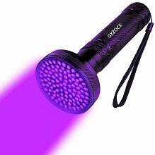 100LED UV Schwarzlicht Taschenlampe,