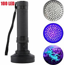 100 LEDs UV Ultra Violett Blacklight Taschenlampe