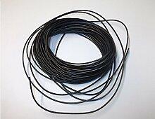100m schwarz Equipment Wire Kabel 7x 0,2mm