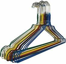 100 Metallkleiderbügel RSR Hangers Drahtbügel