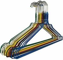 100 Metallkleiderbügel RSR Hangers Drahtbügel Kleiderbügel Hosenbügel Blusenbügel Hemdenbügel Gold
