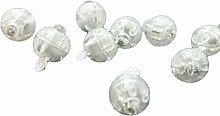 100Mini Ball LED-Lights Flash Dekoration für Partys, Home Weißes Lich