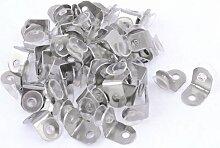 100Saugnapf Basis Metall Teller Glas Regal