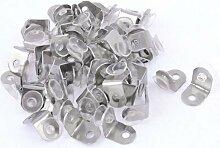 100Saugnapf Basis Metall Teller Glas Regal Unterstützung Halterungen