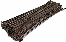 100selbstsperrenden Nylon Kabelbinder 100mm x