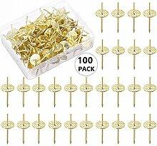 100 Stück Ein-Schritt-Kleiderbügel, schnelle