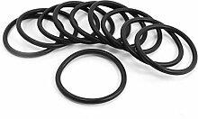 100Wasser Filter Ersatz Gummi O Ring 46mm OD 3.5mm dick