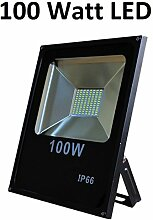 100 Watt LED Außenstrahler, Flutlicht, 120°