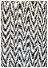 100% Wolle Handgewebt Teppich Flachflor Modern