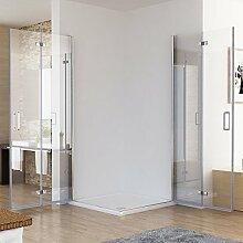 100 x 100 x 195 cm Duschkabine Eckeinstieg Dusche