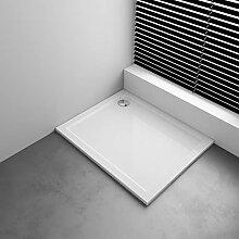 100 x 80 cm Duschwanne Duschtasse   Weiß