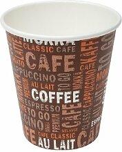 1000 Coffee To GO 0,1 l Pappbecher Espressobecher Mocca