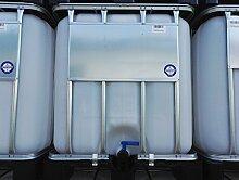 1000 Liter IBC Container Regentonne Wasserfass Tank NEU Lebensmittelech