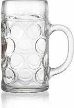1000 ml Bierglas Paulaner (Set of 6) Ritzenhoff &