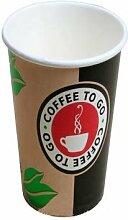 1000 Pappbecher 0,3l Hartpapierbecher Coffee to Go Pappbecher Kaffeebecher Einwegbecher