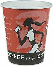 1000 Premium Kaffeebecher, Pappe,