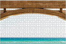 1000 Stück-Seaside Florida Abstrakte Nahaufnahme