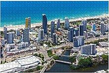 1000 Teile-Luftbild von Broadbeach mit dem