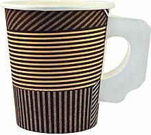 1000 x Kaffeebecher mit Henkel 0,18 l Enjoy