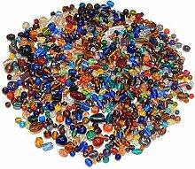 1000g Glasperlen Mix Kit Glas Kinder Perlen zum