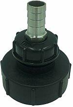 1000l IBC Wassertank Gartenschlauch Adapter