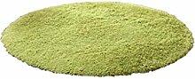 100cm Flauschigen Antiblockier-zottige Bereich Teppich Schlafzimmer-Teppichbodenmatte - Gras-Grün