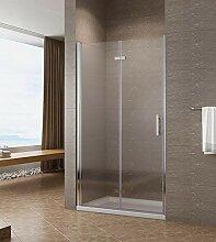 100cm Nischentür Duschtür Falttür Duschwand