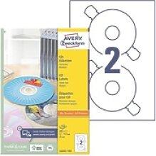 100er-Pack CD-/DVD-Label »L6043-100«, Avery