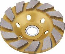 100mm Gold-5mm Breite 6 Löcher Carbite