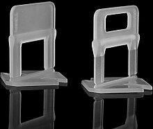 100Pcs Fliese Ausrichten Clips Kunststoff für
