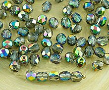 100pcs Kristall Metallic Dichroitischen Vitrail
