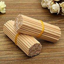 100pcs Runde Aus Holz Lollipop EIS Lolly Sticks