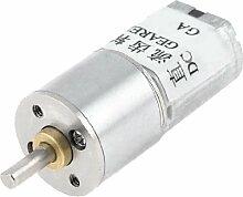100RPM 3mm Wellendurchmesser Pernament Magnetische Getriebe Geared Motor 6VDC