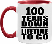 100th Anniversary 100 Years Down Lifetime To Go -