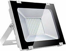 100W LED Strahler Außen, Papasbox Superhell
