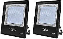 100W LED Strahler Außenstrahler,10000LM Fluter