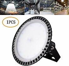 100W UFO LED Hallenleuchte 8000LM 6500K