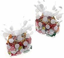 100x Candy SÜßIGKEITEN Gastgeschenk Tasche