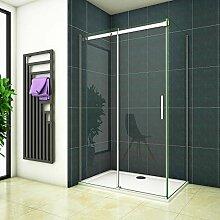 100x195 Dusche Duschabtrennung Duschkabine 6mm