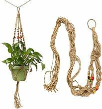106,7cm Farbe Bead Blumentopf Pflanze