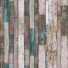 10606 Holz-Tapetenrollen, braun/hellbraun,