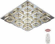 108W Quadrat LED Kristall Deckenleuchte Badleuchte