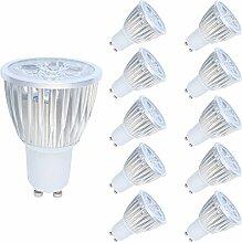 10er 5W LED GU10 Lampe,LED Spot Strahler,Ersatz