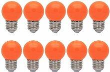 10er E27 Farbig Glühlampen Lampe Birne