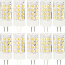 10er LED Lampen G4 Pin Stiftsockel Lampe 5W,40