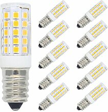 10er Pack 5W E14 LED Lampe Warmweiß 3000K, Ersatz