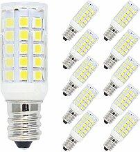 10er Pack E12 5W LED Lampe,400 Luman,44x2835